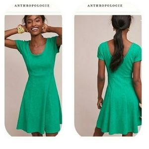 Anthropologie Maeve skater circle dress